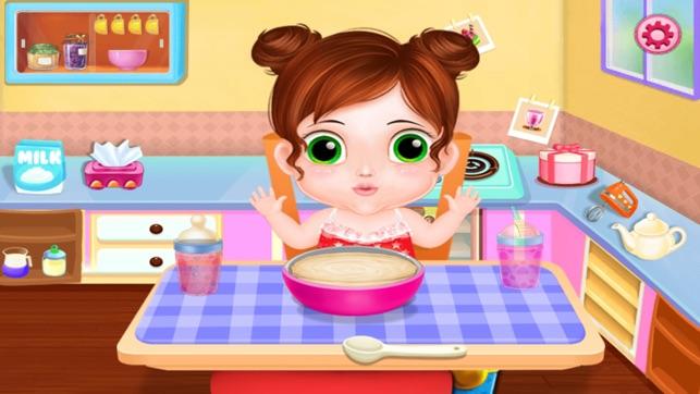 54b671ce1 Niñera Cuidar bebes Babysitter Juego de cuidado de niños para los ...