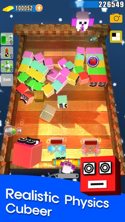 Jerk Cubeer-Brick Breaker screenshot-1