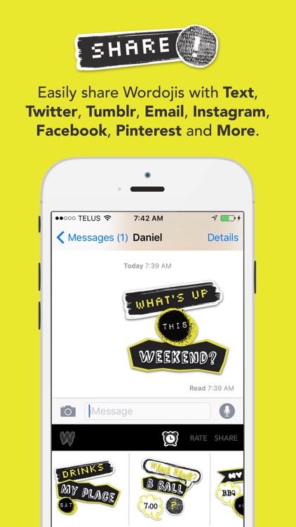 Wordoji Pro - Stickers & Logos screenshot-3