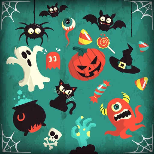 Halloween Puzzles For Kids Free icon