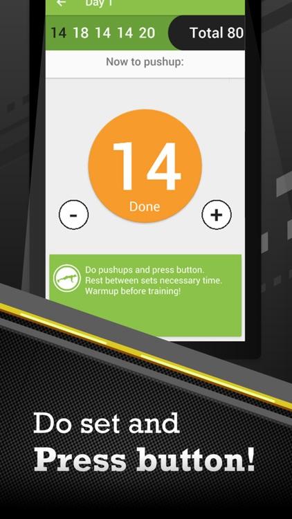 100 Pushups PRO screenshot-3
