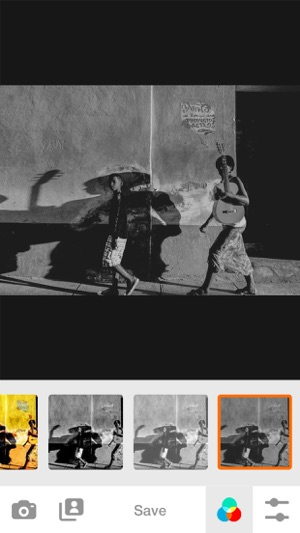 Black and white bw filter photo editor for bw film emulator effect for instagram on the app store