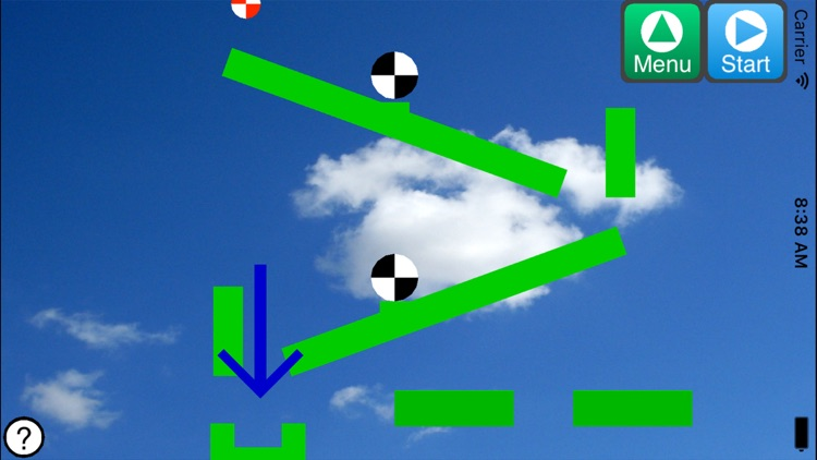 Physics Ball Simulator Lite - A game to train your logical thinking