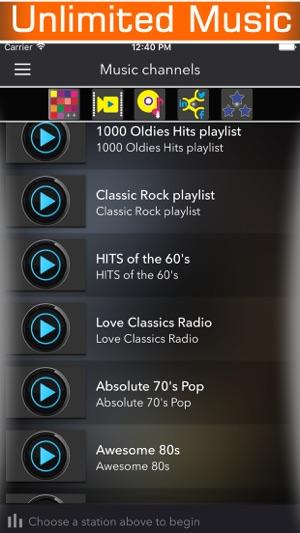 60s 70s 80s retro music radio & classic country rock songs