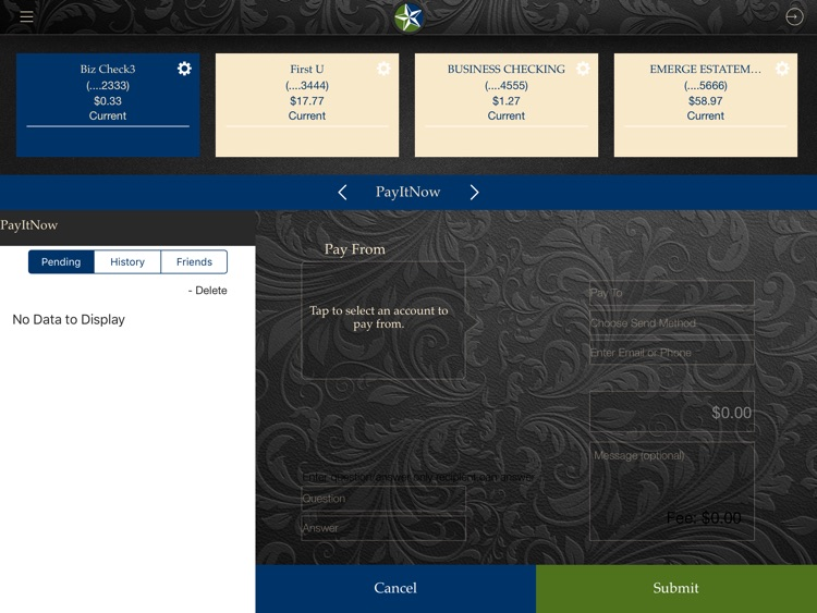 First United Bank for iPad screenshot-3