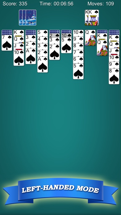 Spider Solitaire Classic!!Screenshot von 2