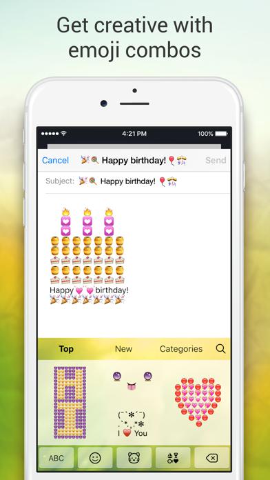 Emoji Keyboard for Me - Keyboard Themes & Emojis Screenshot on iOS