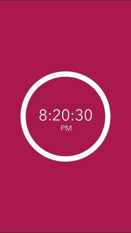 Night Light Clock