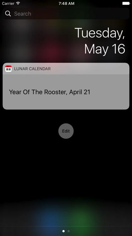 Today Lunar Calendar screenshot-3