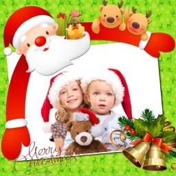 Amazing Christmas Photo Frames + Stickers