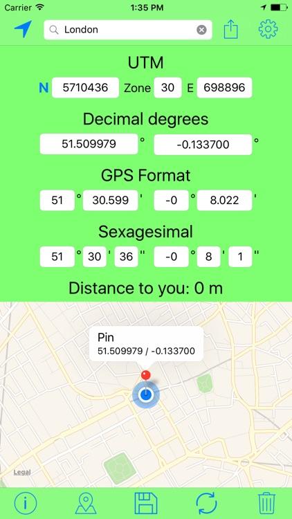 UTM Coordinates Tool screenshot-3