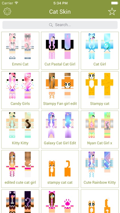 Cat Skins New Skins For Minecraft Pe Pc By Shailesh Makadia