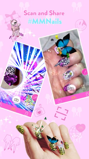 MM Nails Interactive Hologram Nail Art On The App Store