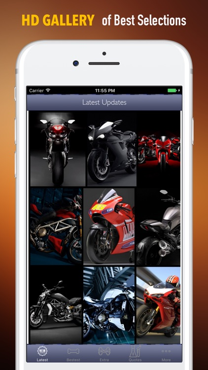 Ducati Wallpapers HD- Quotes and Art Pictures screenshot-0