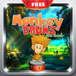 Monkey Baby Drums  - Kids Musical Drumming Station