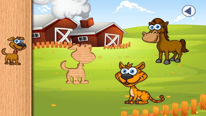 Fun Animal Puzzles and Games for Toddlers and Kid Screenshot