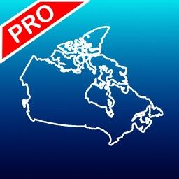 Aqua Map Canada Pro - GPS Offline Nautical Charts