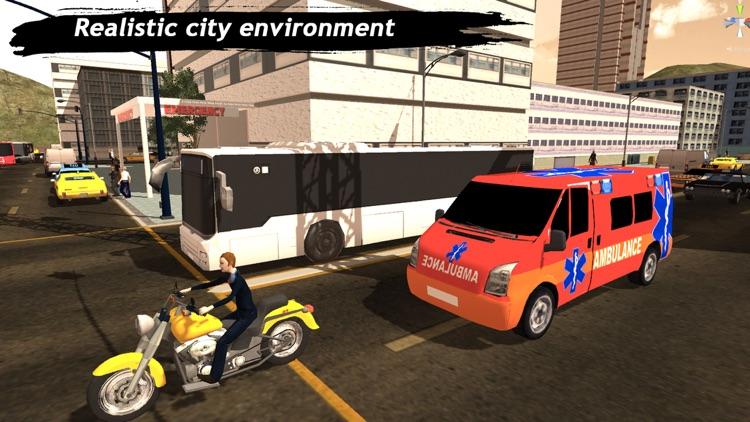 Ambulance Simulator : Rescue Mission 3D