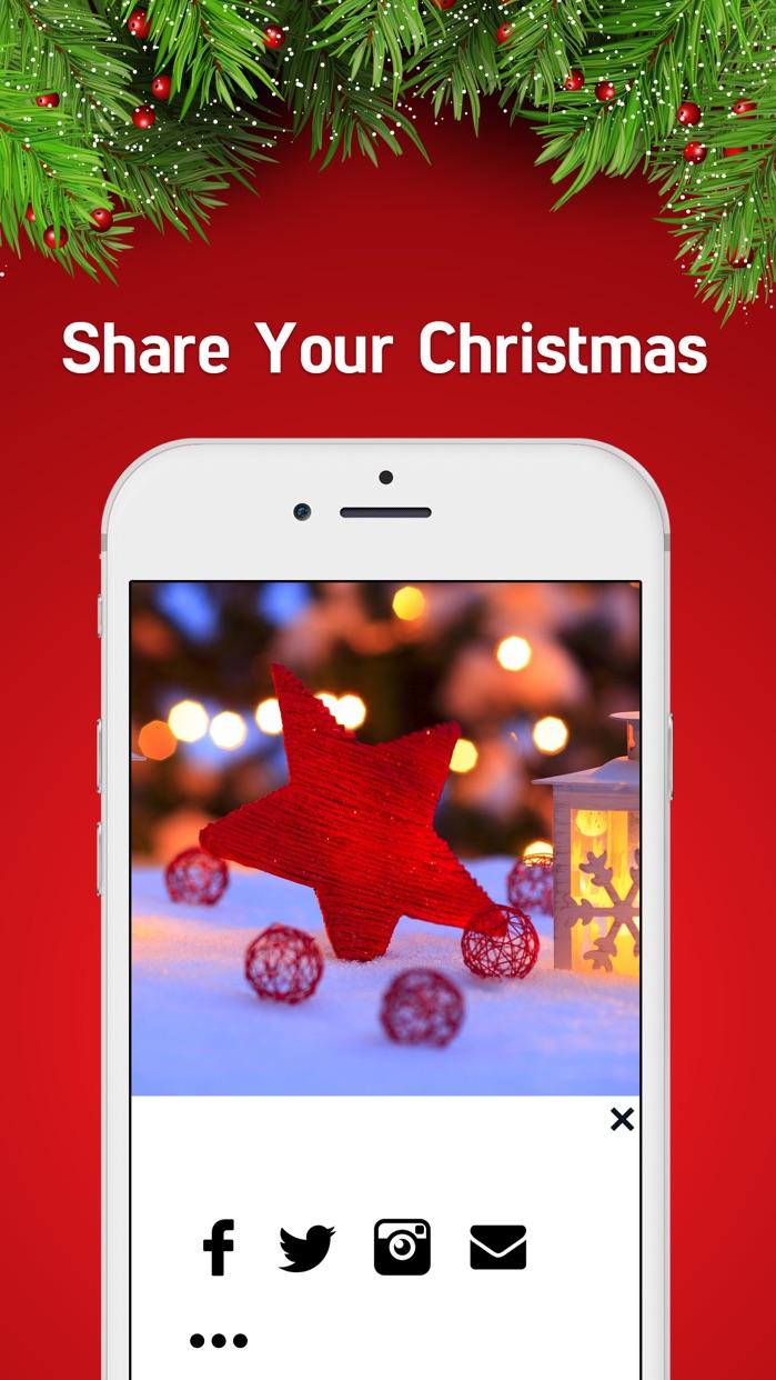 Christmas Holiday Wallpaper- Christmas Backgrounds Screenshot