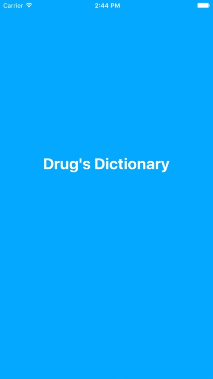 Drug Dictionary Offline
