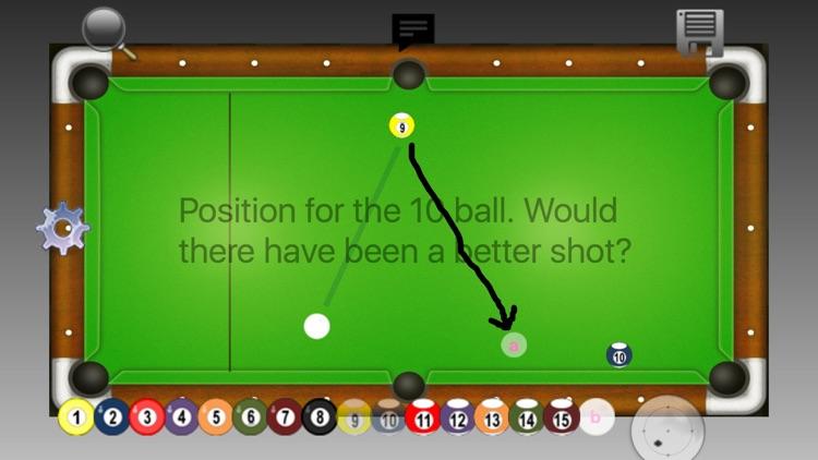 SHOT PAD - Pool and Pocket Billiards Notepad
