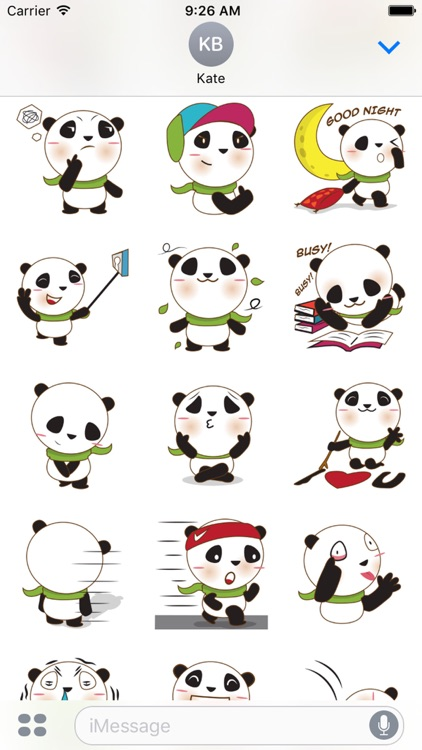 BaoBei the cute and energetic panda