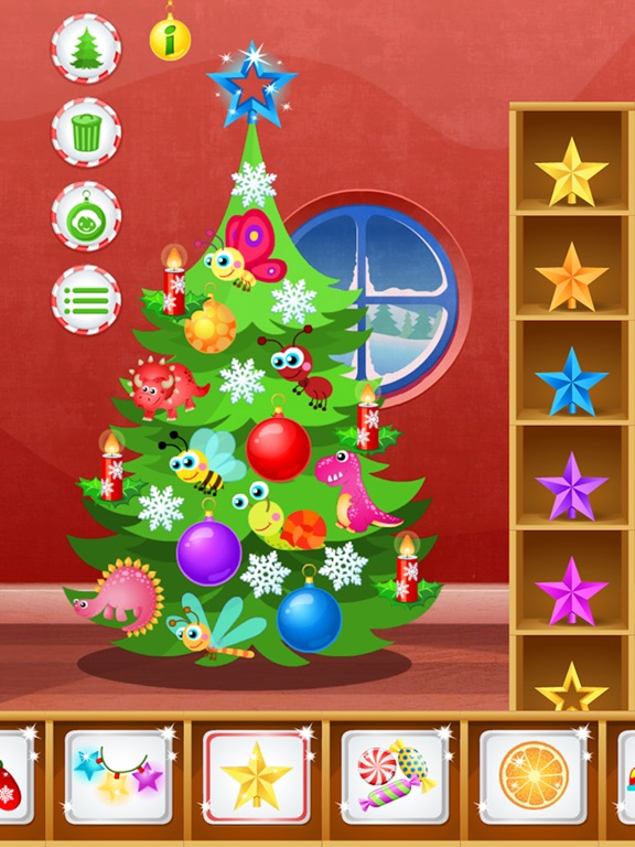 screenshot 3 for 123 kids fun christmas tree christmas games free - Christmas Tree Decoration Games