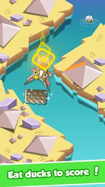 Happy Dragon Arrow: An Endless Crossy Swim Mania screenshot-4