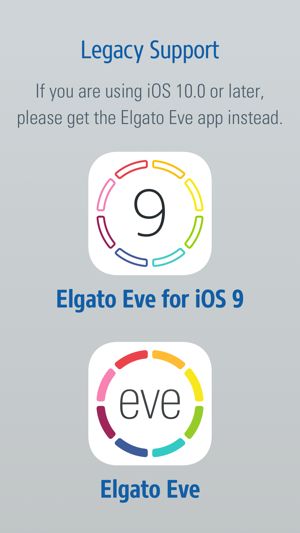 Elgato Eve für iOS 9 Screenshot