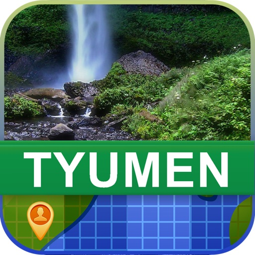 Offline Tyumen, Russia Map - World Offline Maps