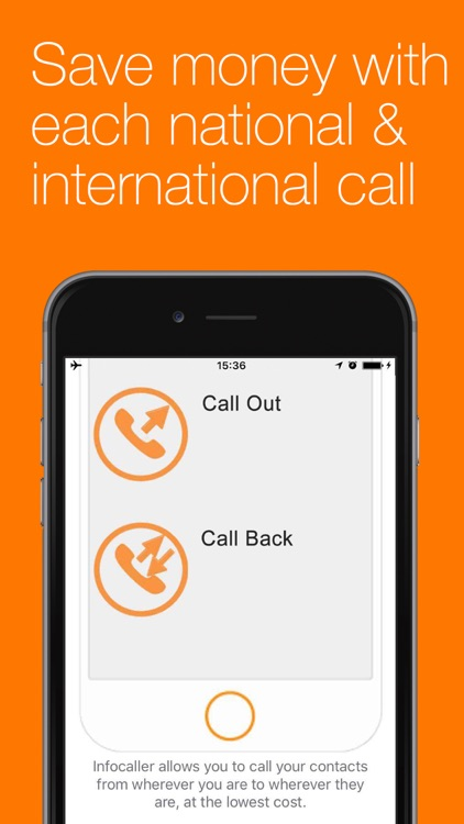 Infocaller Lite: cheap international calls screenshot-3