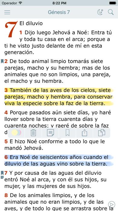 La Biblia Hablada Offline en Español. Reina Valera
