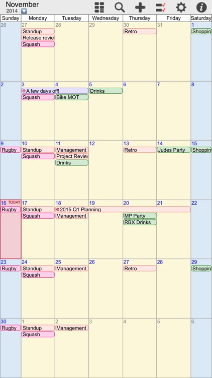 myCal PRO: Calendar & Event Organizer screenshot-1