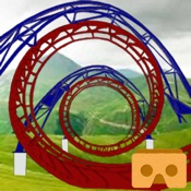 Rolling Balls Roller Coaster - Virtual Reality VR