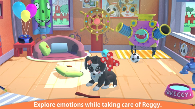 Peppy Pals - Reggy's Play Date