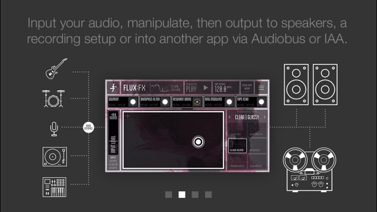 FLUX:FX play - the professional audio multi-effects engine by Adrian Belew screenshot-3
