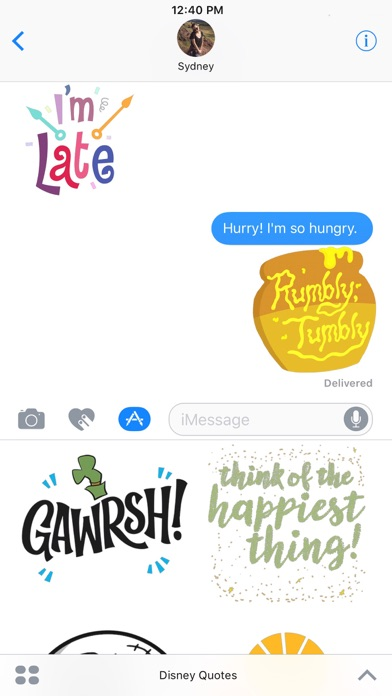 Disney Stickers: Quotes for Windows