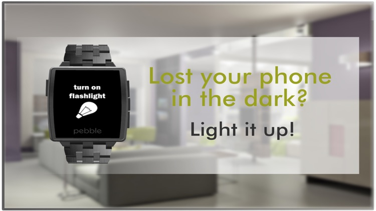 Find my Phone for Pebble Smartwatch