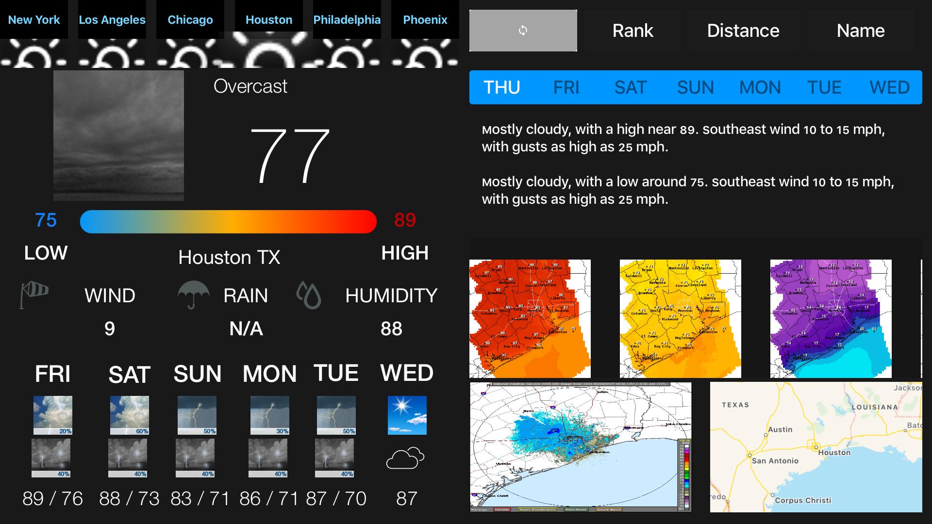 Instant NOAA Weather Forecast Pro screenshot 5