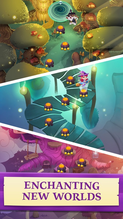 Bubble Witch 3 Saga screenshot-3