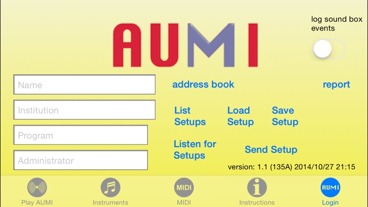 AUMI screenshot-2