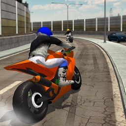 Bike Race Highway Traffic Rider 2017: Extreme Moto