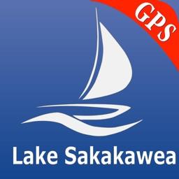 Sakakawea lake GPS nautical charts