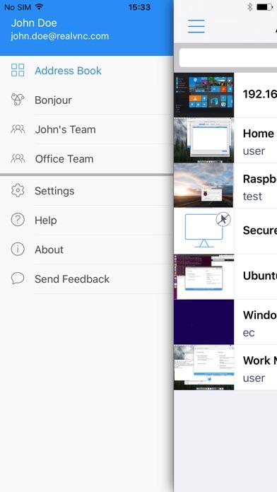 VNC Viewer - Remote Desktop Screenshots