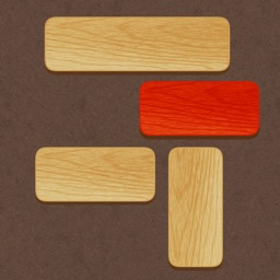 Slide and Unblock! Unlock red plank.