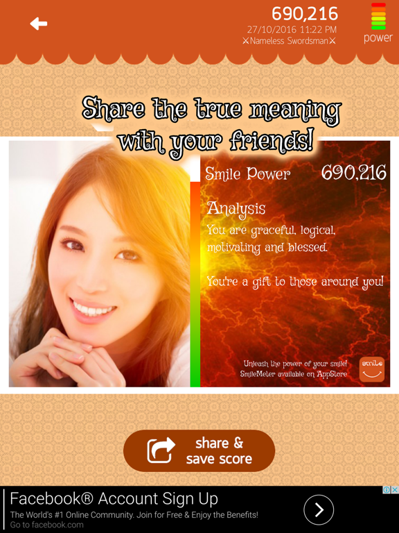 SmileMeter - Unleash the power of your smile! | App Price Drops