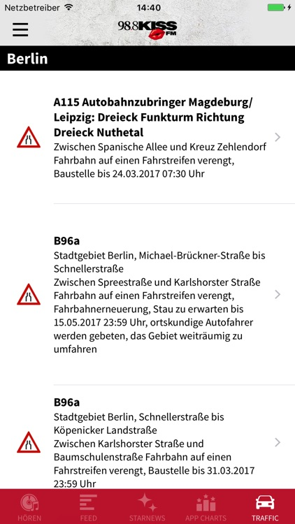 KISS FM – DER BEAT VON BERLIN screenshot-3