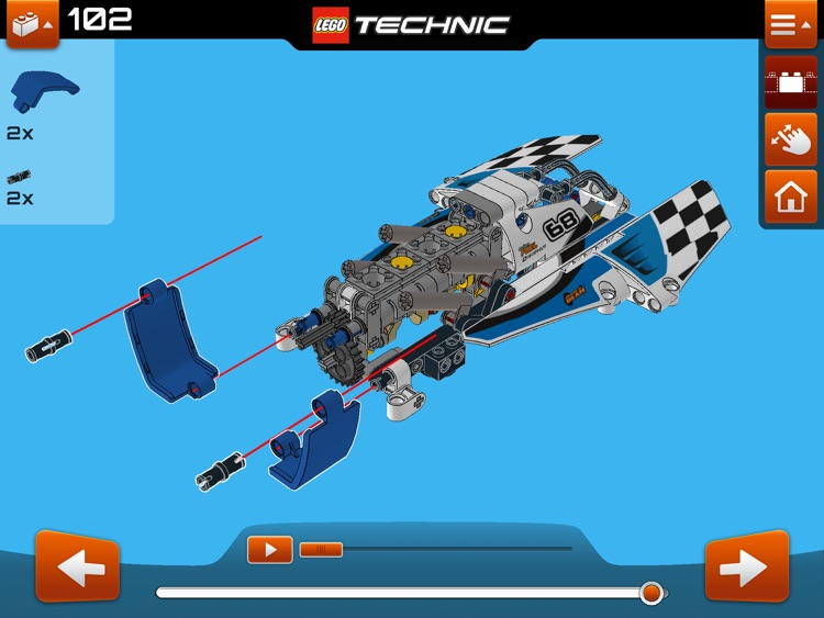 LEGO® Technic Building Instructions screenshot-3