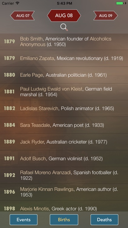 History Events Today screenshot-3