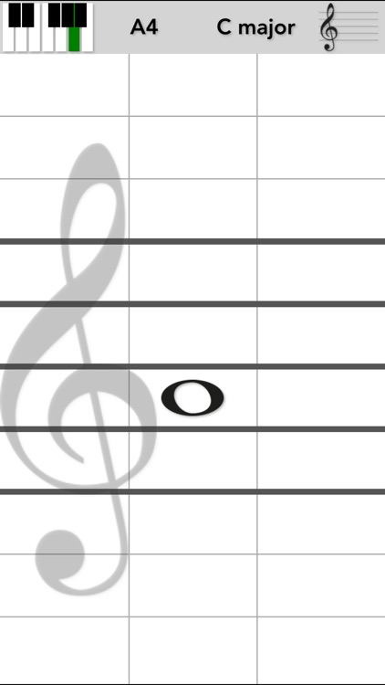 VoiceMyNote - Play tones by tapping the note sheet screenshot-0